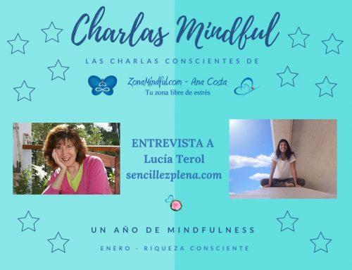 Charlas Mindful: Hablamos de Riqueza Consciente con Lucía Terol